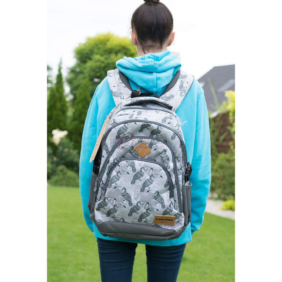 6e0d0002c1351 Plecak szkolny młodzieżowy Head 2 HD-48 - Biurwa.pl
