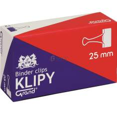 Klipsy biurowe Grand 25mm /a`12/