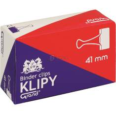 Klipsy biurowe Grand 41mm /a`12/