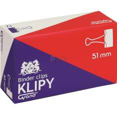 Klipsy biurowe Grand 51mm /a`12/