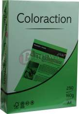 Papier ksero kolorowy A4 160g Dublin zielony Coloraction