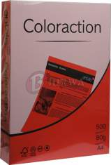 Papier ksero kolorowy A4 160g Chile koralowy Coloraction