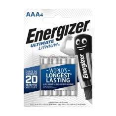 Baterie AAA L92 1.5V Energizer Ultimate Lithium 4 sztuki