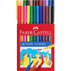 Flamastry Faber Castell 24 kolory