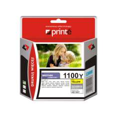 Tusz Brother LC1100/980Y Printe yellow