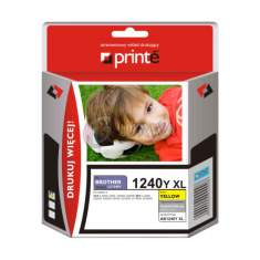 Tusz Brother LC1240Y Printe yellow