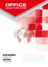 Blok biurowy Office Products A4 kratka 50 kartek