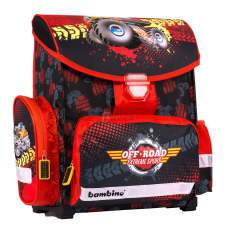 Tornister Monster Truck Bambino Premium