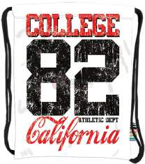 Plecak  na sznurkach Stright SO-10 California Colege 82