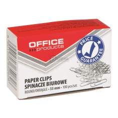 Spinacz biurowy 33mm Office Products