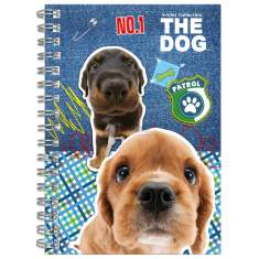 Notes spiralny A6 The Dog